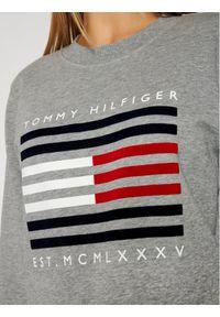 TOMMY HILFIGER - Tommy Hilfiger Bluza WW0WW29236 Szary Regular Fit. Kolor: szary