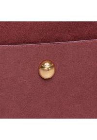 Czerwona listonoszka Coccinelle zamszowa, wizytowa