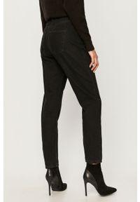 Czarne jeansy Noisy may z podwyższonym stanem