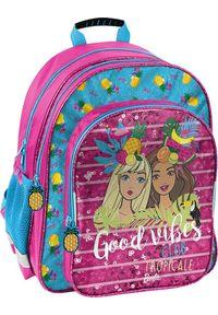Kita Plecak szkolny Barbie Good Vibes różowy. Kolor: różowy