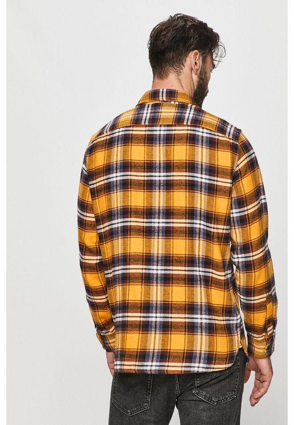 Żółta koszula Levi's® casualowa, na co dzień