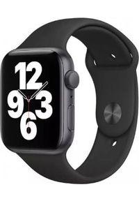 APPLE - Smartwatch Apple Watch SE GPS 44mm Gray Alu Black Sport Czarny (MYDT2WB/A). Rodzaj zegarka: smartwatch. Kolor: czarny. Styl: sportowy