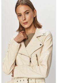 Biała kurtka TALLY WEIJL casualowa, na co dzień, bez kaptura, gładkie