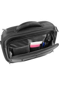 Czarna torba na laptopa NATEC casualowa, w kolorowe wzory