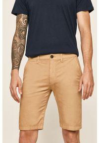 Beżowe szorty Pepe Jeans na co dzień, casualowe
