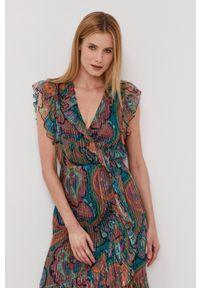 Nissa - NISSA - Sukienka. Materiał: tkanina, materiał. Typ sukienki: rozkloszowane