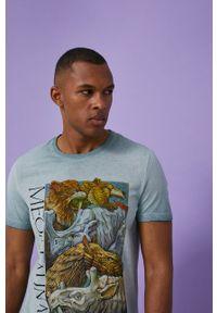 medicine - Medicine - T-shirt by Alek Morawski. Kolor: szary. Wzór: nadruk