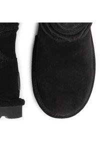 Czarne botki Bearpaw
