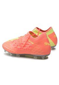 Pomarańczowe buty do piłki nożnej Puma