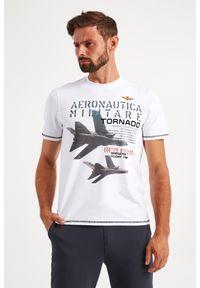 Aeronautica Militare - T-SHIRT AERONAUTICA MILITARE. Materiał: bawełna. Wzór: haft, nadruk