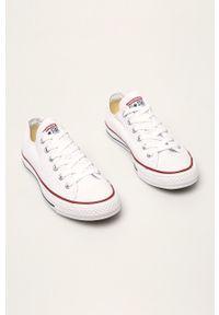 Converse - Tenisówki. Nosek buta: okrągły. Zapięcie: sznurówki. Kolor: biały. Materiał: guma