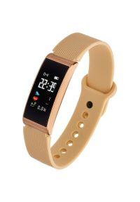 Złoty zegarek GARETT elegancki, smartwatch