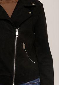 Czarna kurtka ramoneska Renee