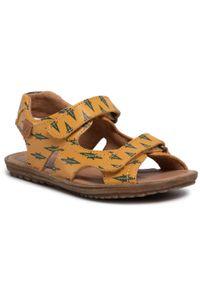 Brązowe sandały Naturino klasyczne, na lato