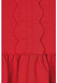 Czerwona sukienka Mayoral z krótkim rękawem, mini