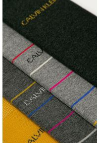 Szare skarpetki Calvin Klein Jeans