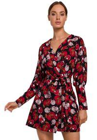 Sukienka MOE z nadrukiem, mini