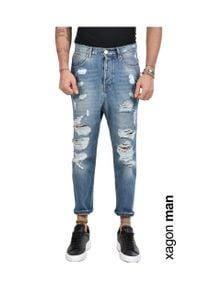 Xagon Man Jeansy. Materiał: jeans