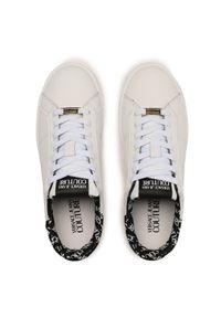 Versace Jeans Couture Sneakersy E0YWASK3 Biały. Kolor: biały
