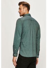 Zielona koszula PRODUKT by Jack & Jones na co dzień, button down