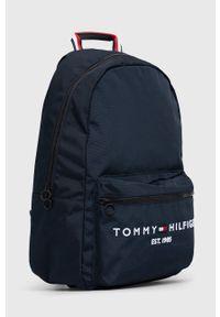 TOMMY HILFIGER - Tommy Hilfiger - Plecak. Kolor: niebieski. Materiał: poliester