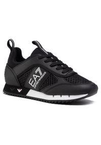 Czarne sneakersy EA7 Emporio Armani z cholewką