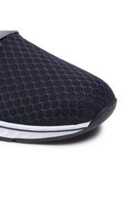 Rieker Sneakersy B4761-14 Granatowy. Kolor: niebieski