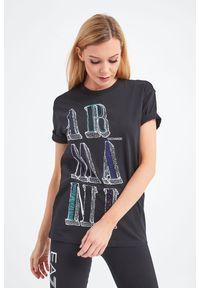 T-shirt Armani Exchange na co dzień, casualowy