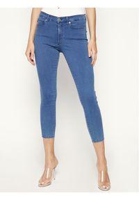 Niebieskie jeansy slim Hugo