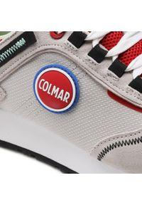 Colmar - Sneakersy COLMAR - Travis Sport Colors 038 Lt Gray/Red. Okazja: na co dzień. Kolor: szary. Materiał: skóra, materiał, zamsz. Szerokość cholewki: normalna. Styl: sportowy #6