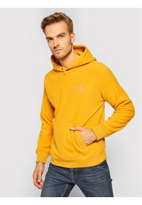 Levi's® Polar 34625-0001 Żółty Relaxed Fit. Kolor: żółty. Materiał: polar