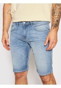 Baldessarini Szorty jeansowe Jamil B1 16916/000/1273 Niebieski Slim Fit. Kolor: niebieski. Materiał: jeans