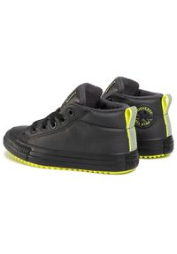 Converse Sneakersy Ctas Street Boot Md 669328C Czarny. Kolor: czarny. Styl: street