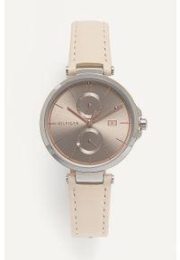 Kremowy zegarek TOMMY HILFIGER