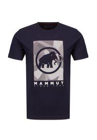 Koszulka sportowa Mammut outdoorowa, z nadrukiem