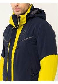 salomon - Salomon Kurtka narciarska Icecool LC1221700 Granatowy Regular Fit. Kolor: niebieski. Sport: narciarstwo