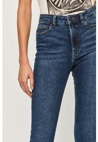 Niebieskie jeansy Noisy may z podwyższonym stanem #5