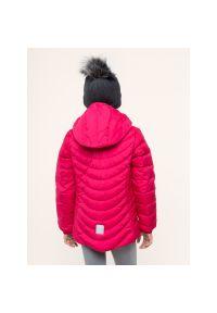 Różowa kurtka puchowa Reima