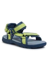 Zielone sandały Jack Wolfskin