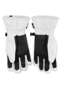 Białe rękawiczki Rossignol