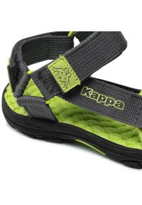 Kappa - Sandały KAPPA - Mortara K 260772K Grey/Lime 1633. Kolor: szary. Materiał: materiał. Sezon: lato. Styl: klasyczny #3