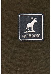 Brązowa kurtka Fat Moose casualowa, na co dzień