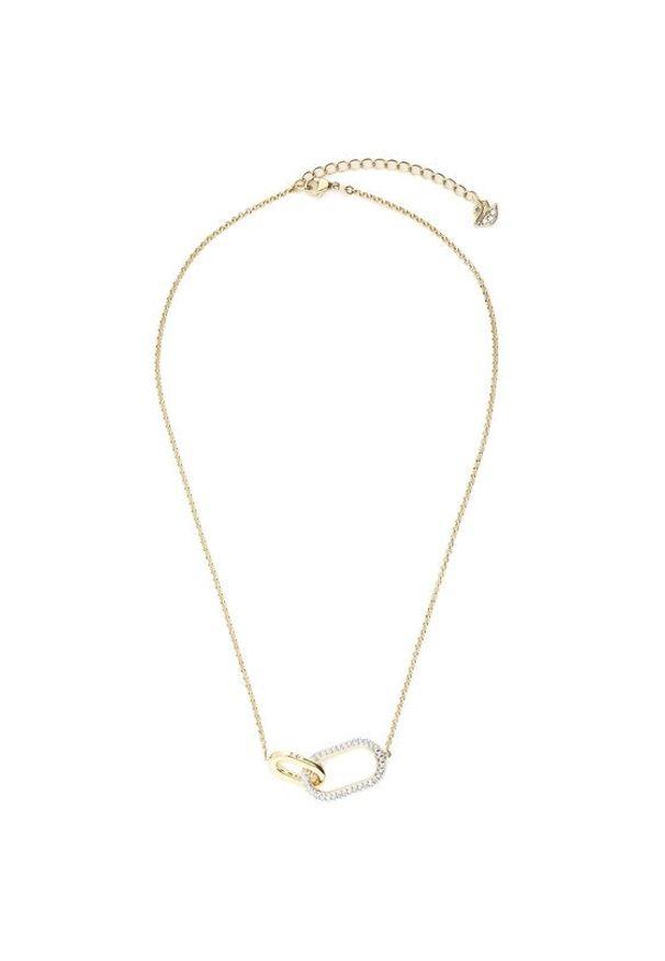 Swarovski Naszyjnik Necklace Med 5566227 Złoty. Materiał: złote. Kolor: złoty