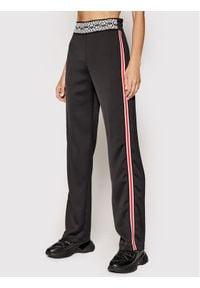 Pinko Spodnie materiałowe Tecnica Czarny Regular Fit. Kolor: czarny. Materiał: materiał