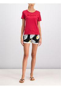 Czerwony t-shirt Roxy