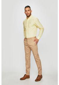 Beżowe spodnie Calvin Klein
