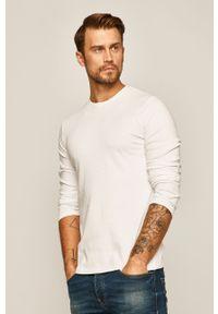 Biała koszulka z długim rękawem medicine casualowa, na co dzień