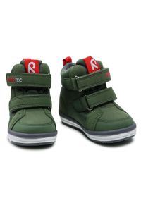 Zielone buty zimowe Reima