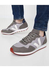 Veja - VEJA - Szare sneakersy SDU B-Mesh. Okazja: na spacer. Kolor: szary. Materiał: mesh. Sport: bieganie, turystyka piesza