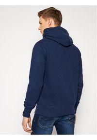Pepe Jeans Bluza Thames PM581620 Granatowy Regular Fit. Kolor: niebieski